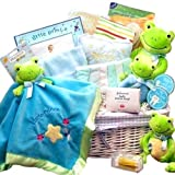 Just Hoppin Around Frog Themed Gift Basket for Boys-Large