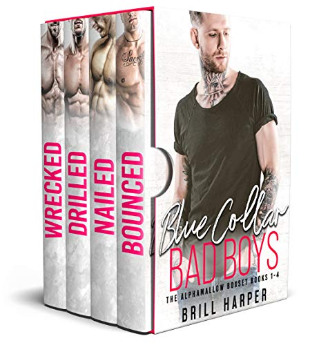 Blue Collar Bad Boys: Books 1-4 (The Alphamallow Collection Book 1)