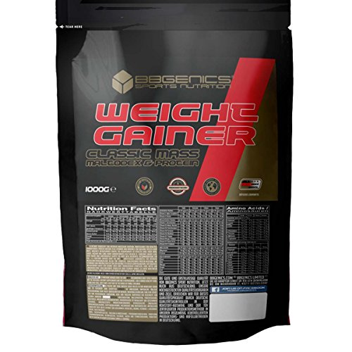 BBGENICS Deutschland - Weight Gainer Classic - 1000g Beutel Schoko