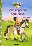 Léna apprend l'équitation