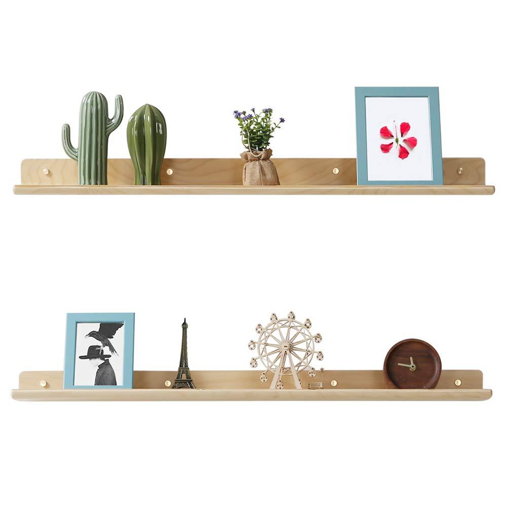 2 set Floating Picture Photo Display Ledge Wall Mount Shelf Holder Home Decor
