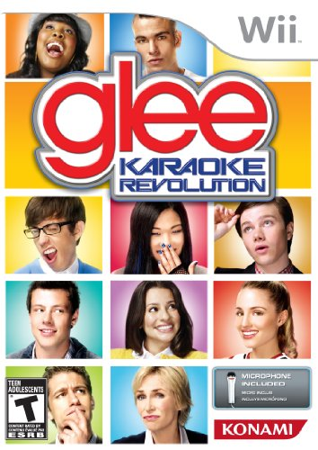 Karaoke Revolution Glee Bundle - Nintendo Wii (Microphone Bundle) (Outlet-mercedes)