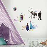 "RoomMates RMK2361SCS Disney Frozen Peel And Stick Wall Decals ,1.3 "" x 1.2 "" to 12.34 "" x 13.9 """
