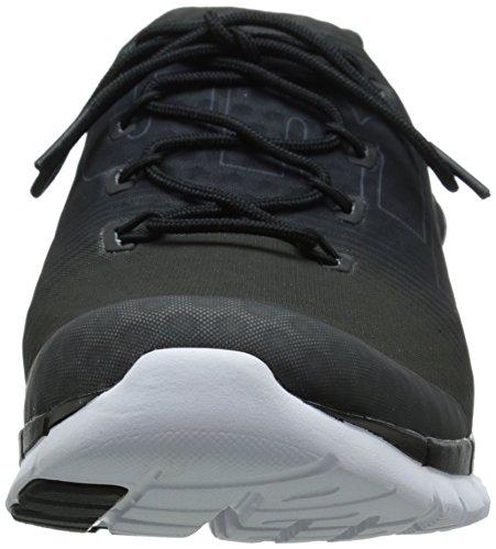 Reebok Z-bomba de fusión Zapatilla deportiva Black/Flat Grey/White/Gravel
