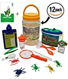 Adventure Kids - Bug Catcher, Habitat Bucket, Tongs, Magnifier, eBook & More – Educational, Imaginative & Creative Toys. Explorer Kit Great Kidz Gift Set For Birthday, Camping, Nature & Backyard Fun