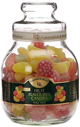 Cavendish mix glass jar 966g - Glasses Cavendish
