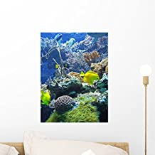 Under Sea Wall Mural by Wallmonkeys Peel and Stick Graphic (18 in H x 14 in W) WM307622