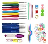 Crochet Hooks Set Include 16 Pcs Crochet hooks and Complete Accessories