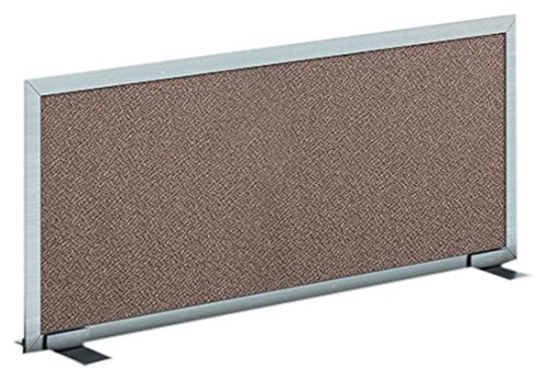 Obex 12X36A-A-JA-FS Acoustical Free Standing Privacy Screen, Java, 12''H X 36''W