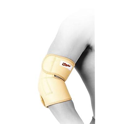 Laubr Sport poignet magnétique de manchette, White/Orange, L