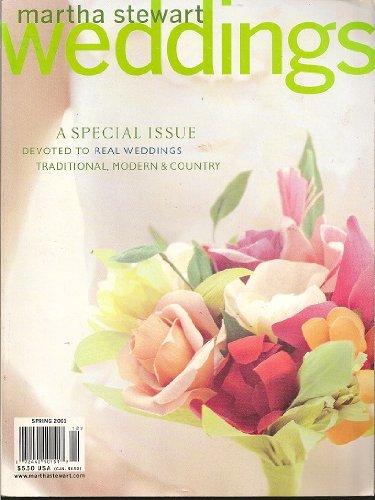 (Martha Stewart Weddings Magazine Spring 2001)