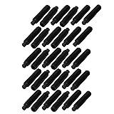 uxcell 30 Pcs M8 x 40mm Alloy Steel Hexagon Socket Drive Dog Point Grub Screw