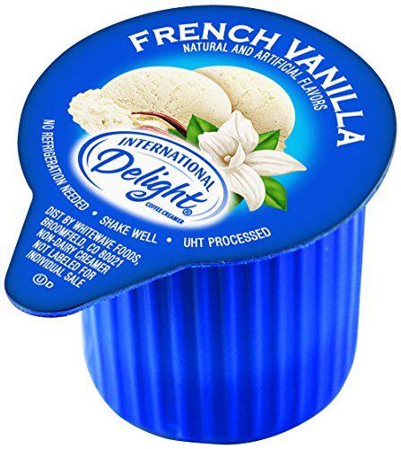 International Delight Non-Dairy Single-Serve Coffee Creamers, French Vanilla, 288 Count