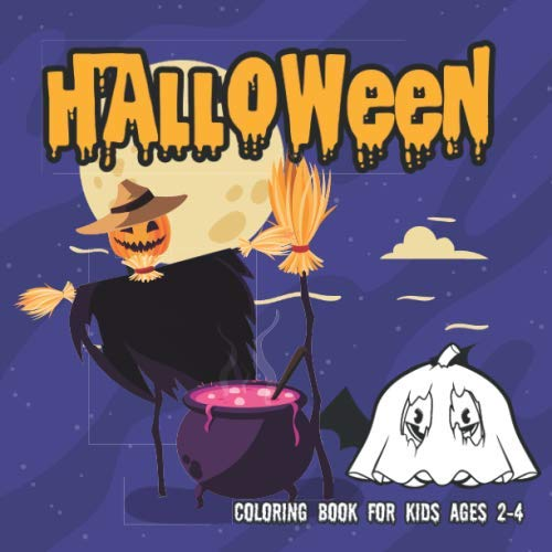 Peanuts Coloring Pages (Halloween Coloring Books for kids ages 2-4: Coloring Book For Toddlers & Preschoolers (halloween coloring pages for)