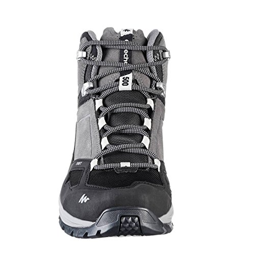 e42dde62d74 Quechua MH 500 Men s MID Waterproof Mountain Hiking Boots - Grey  Buy  Online at Low Prices in India - Amazon.in