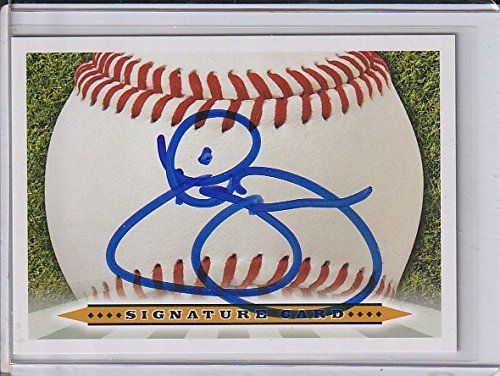 Mcdowell Autograph - Roger McDowell New York Mets Autographed Signature Card