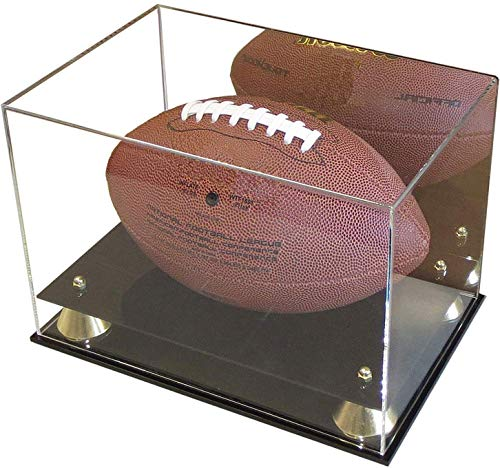 DisplayGifts Deluxe UV Acrylic Full Size Football