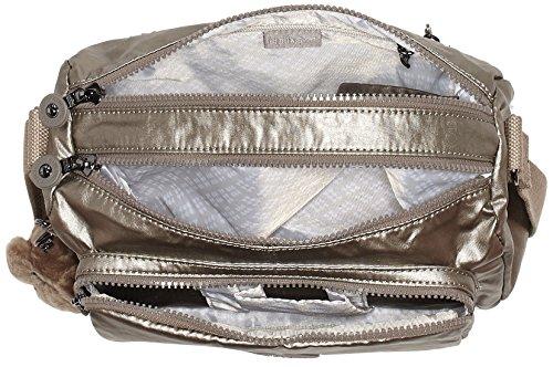 Pewter Kipling Bag Reth Cross Metallic Gold Body Women's ZZnTOvq0