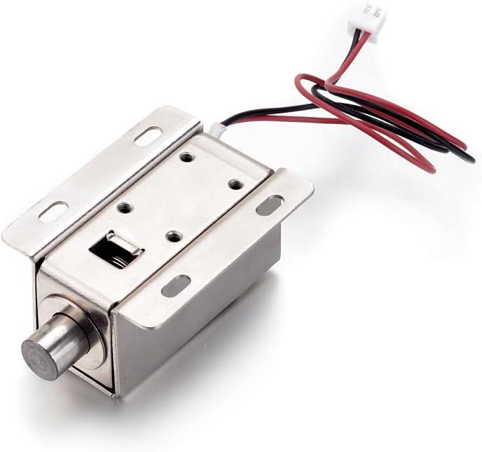 24V Design Slim Lock ATOPLEE 1pcs porte Tongue tiroir vers le bas /électrique Verrouillage Solenoide DC 12V DC12V, 0.8A 5 styles