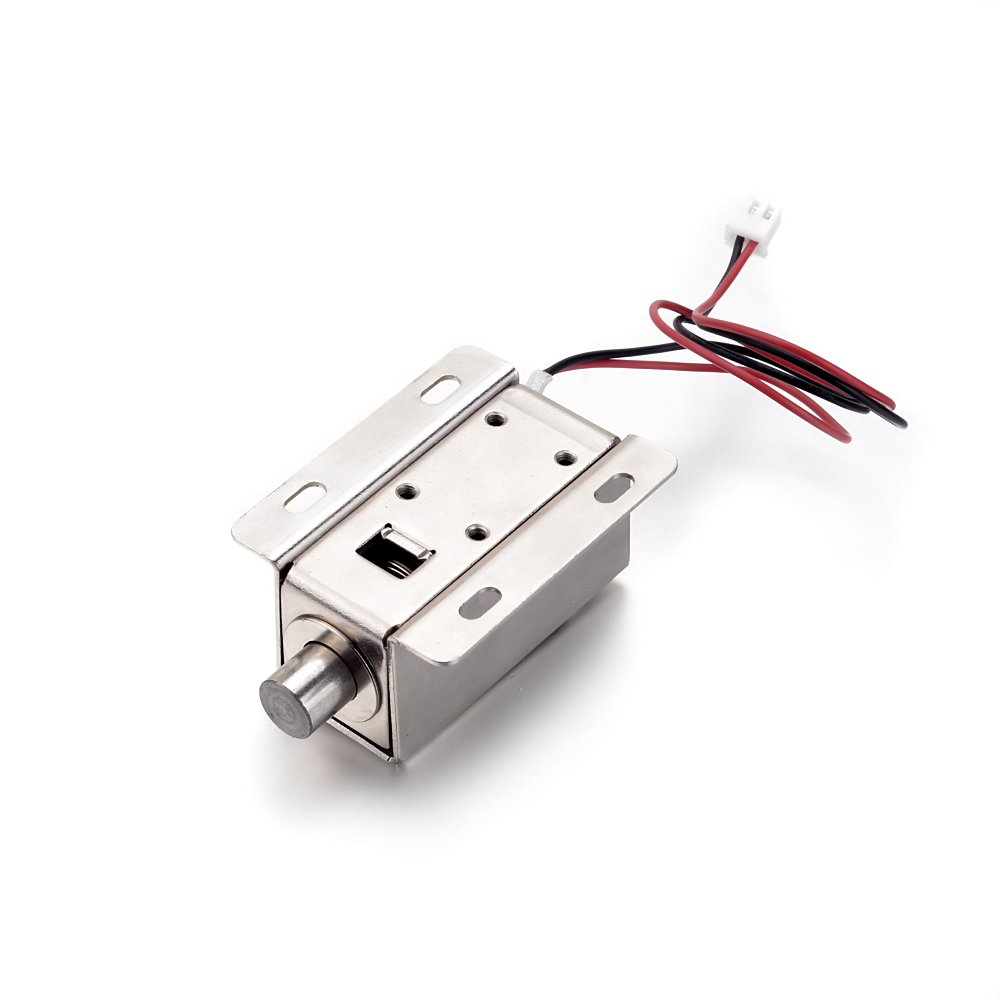 Atoplee 1pcs Door Drawer Tongue Down Electric Lock Assembly Solenoid DC 12V/24V Slim Design Lock,5 Styles (DC12V,0.8A) by ATOPLEE (Image #2)
