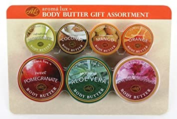 morgan avery 5979 aroma lux body butter gift assortment amazon co