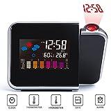 XFUNY Projection Alarm Clock with Calendar