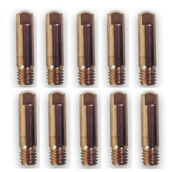 Ø 0,8mm//M6-041912 GYS 10 Kontaktrohre für MIG-Brenner 150A