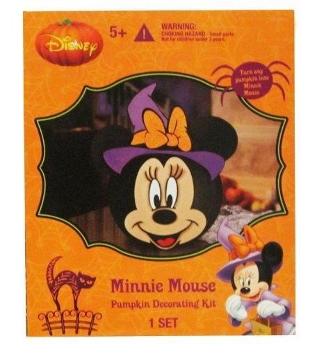 Disney Minnie Mouse Pumpkin Decorating -