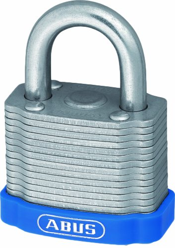ABUS 33774 Eterna Laminated Plated Steel Padlock with EE0020 Alike ()