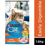 Cat Chow Easily Digestible Dry Cat Food 1.6 kg