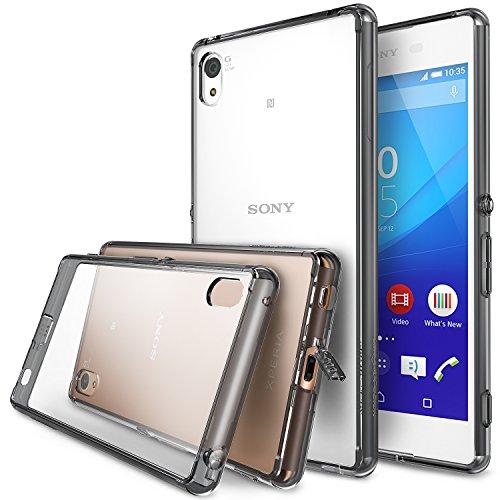 Ringke Fusion TPU Cover Case for Sony Xperia X (Smoke Black) - 3