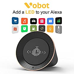 Smart Alarm Clock with Amazon Alexa, 5W Speaker, Voice Control, LED Display, Timer/Date/Weather/Daily News/Radio/Music(Amazon Music, iHeartRadio, TuneIn etc)
