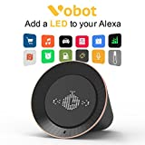Smart Alarm Clock with Amazon Alexa, 5W Speaker, Voice Control, LED Display, Timer/Date/Weather/Daily News/Radio/Music(Amazon Music, iHeartRadio, TuneIn etc)