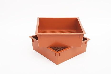 Gusano de fábrica adicional 2-Pack Compost Bin bandejas