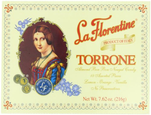 (La Florentine Torrone, Lemon, Orange, Vanilla, 7.62-Ounce, 18-Count Boxes (Pack of 4))