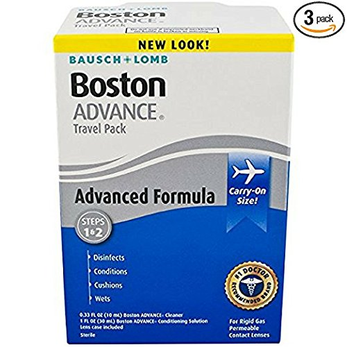 Formula Travel Pack (Bausch & Lomb Boston Advance Formula Travel Pack 1 Each ( 3 pack))