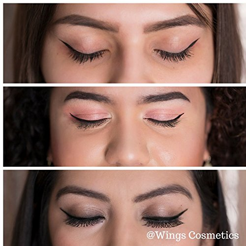Wings Cosmetics Winged Eyeliner Stamp Classic, Easy to Use, Wing Stamp, 2 Wing Stamps in 1 Stamp, Authentic