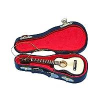 """Adorno de guitarra perlado de madera 5.52 """"de Kurt Adler"""