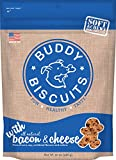 Buddy Biscuits Soft & Chewy Dog Treats with All Natural Bacon & Cheese 20 oz