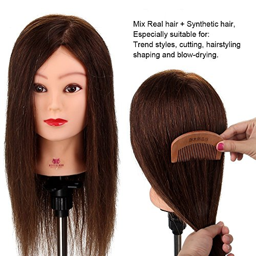 Neverland Beauty 26 Inch 30% Real Hair Hairdressing Cosmetol