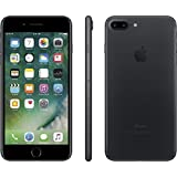 Apple iPhone 7 Plus, GSM Unlocked, 128GB - Black (Certified Refurbished)