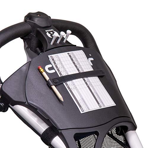Clicgear Model 8+ | 4-Wheel Golf Push Cart (White)