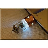 Handmade 64GB USB 2.0 WHITE Porthole Pentode Radio Tube USB Flash Drive. Steampunk/industrial Style (Tags: Stick Thumb Key Storage Memory. Retro Vintage Gadget for PC Smart TV)