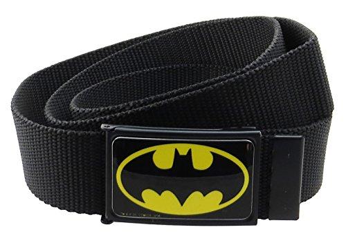 Classic D-ring Belt (Batman DC Comics Web Belt 1.5