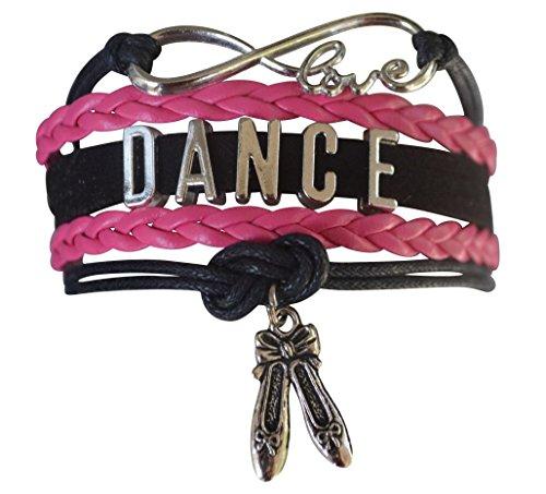Dance Bracelet- Girls Dance Jewelry -Ballet Slipper Charm Bracelet- Perfect Gift For Dance Recitals & - Ideas Valentines Dance