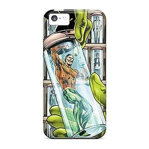 Hot Design Premium Zdj34498RYes Cases Covers Iphone 5c Protection Cases(aquaman I4)