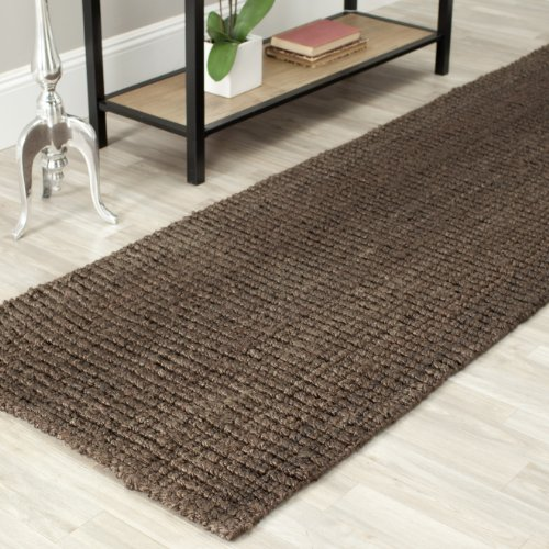 "Safavieh Natural Fiber Collection NF447D Hand Woven Brown Jute Area Rug (2'6"" x 4')"