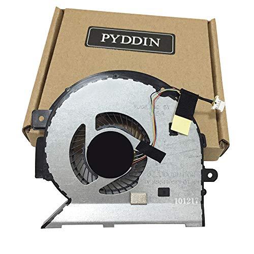 New CPU Cooling Fan for HP Envy X360 15-BP 15-BQ 15M-BP Series 15-BP104TX 15-BP010CA 15-BP051NR 15M-BP011DX 15-BP107TX 15M-BQ021DX TPN-W127 TPN-W128, 924348-001, 4-Pin 4-Wire