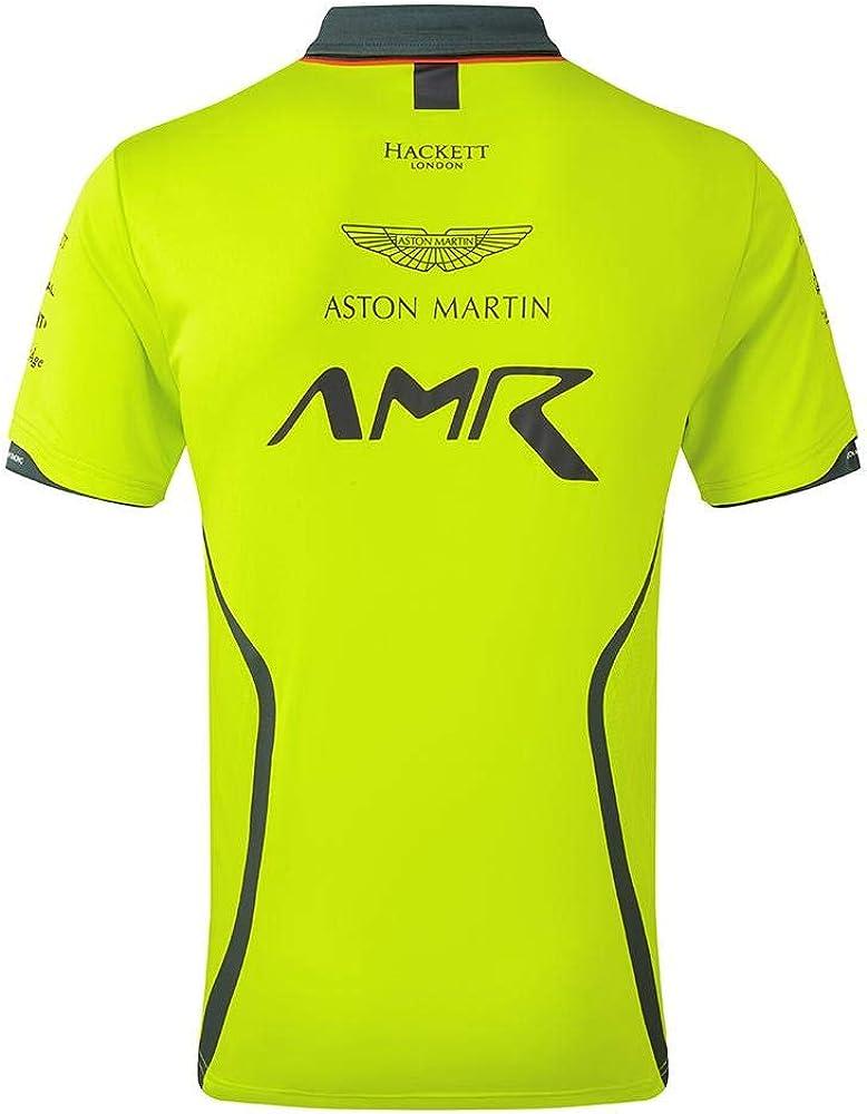 Aston Martin Racing Lime Green Team Polo Shirt