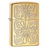 Zippo Ornament High Polish Brass Lighter